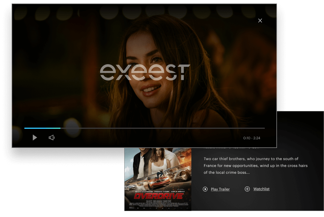 Instant access to content with Exeest for Buyers